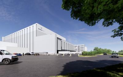 Magnavale Constructs the UK's Largest Most-Efficient Cold Storage Unit