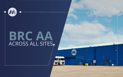 Magnavale Achieve BRC AA Status Across All Facilities